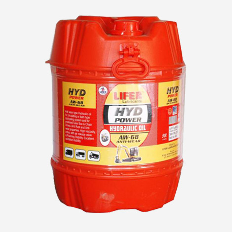 Lifer HYD Power Hydraulic Oil Aw-68