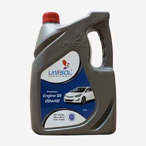 Unisol Premium 20W40 Car Engine Oil