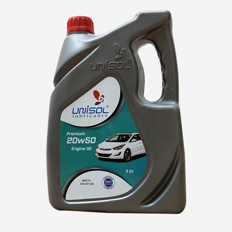 Unisol Premium 20W50 Engine Oil