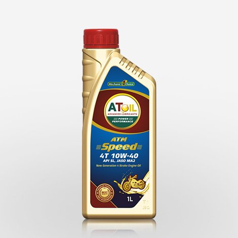 Atoil 10w40 4T Engine Oil