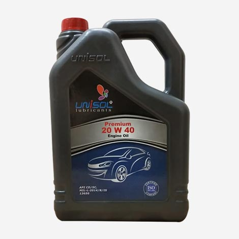 Unisol 20W40 Car Engine Oil