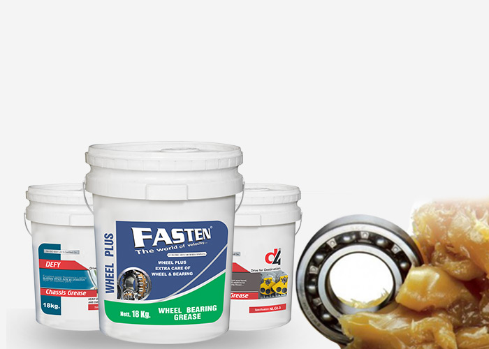 Types of grease and grease used