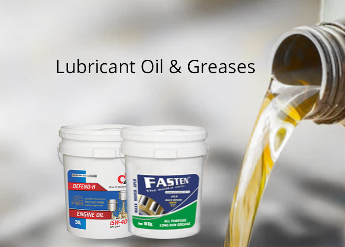 Lubricants oil and greases